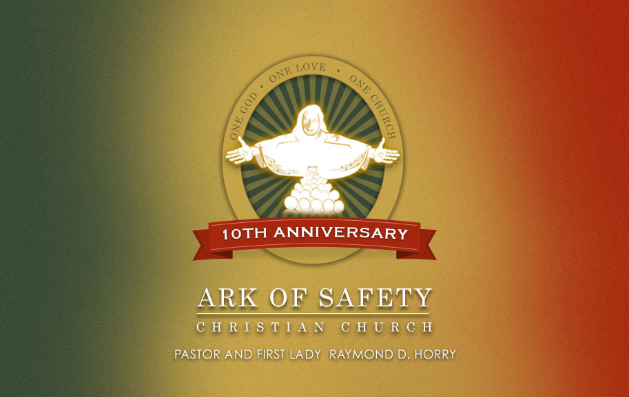 10th anniversary celebration ark of safety christian church for Th background color